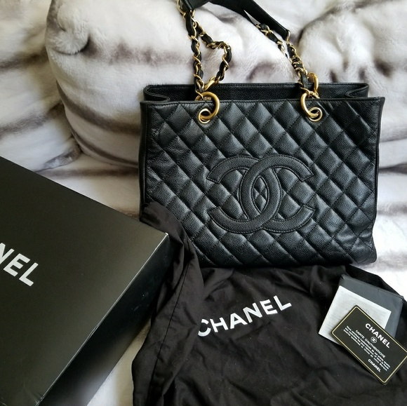 573c037f7883 CHANEL Handbags - Authentic Chanel GST